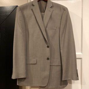 Light grey Calvin Klein suit